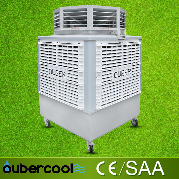 popular powerful outdoor evaporative air cooler, commercial use portable air cooler