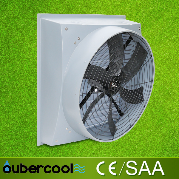 Wall Mounted Kitchen Exhaust Fan poultry vertilation fan, outdoor green exhaust fan 46000m3/h