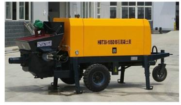 40m3/h Trailer Concrete Pump