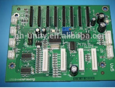 carriage board for Infiniti FY8250B printer with 8 xaar 128/80pl heads