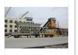 2015 new model Walking Concrete Batching mixing Plant with CE,GOST,ISO certificates
