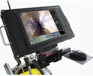 Auto PTZ Motorised Elevator Sewer Pipe Inspection Camera Robot JT-C300