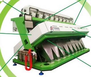 ZRWS Rice / Wheat Color CCD Camera Color Sorter