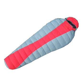 Cold weather double layer sleeping bag