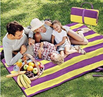 outdoor straw camping picnic mat