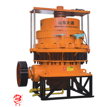 Shandong Datong made China's best spinning disc type making sand crusher production line