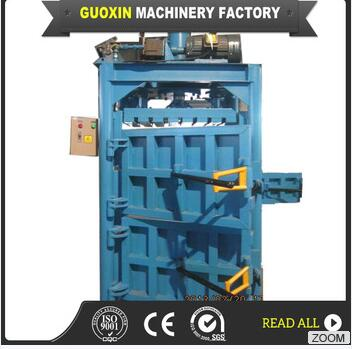 fully automatic bag turning and PLC control hydraulic baling press