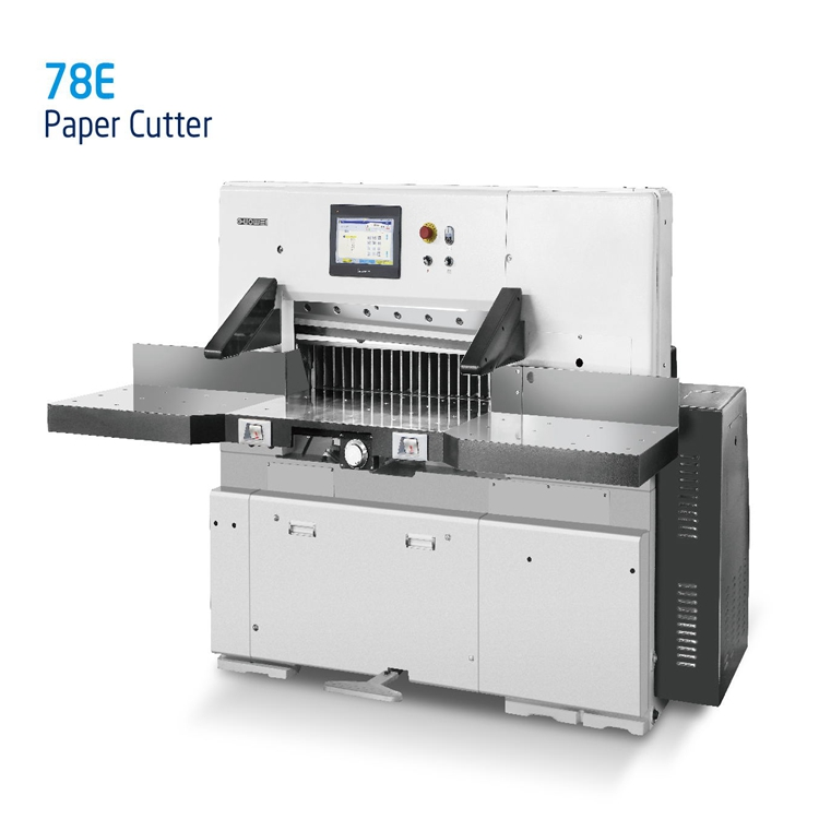 Computerized industrial guillotine paper cutter/cutting machine
