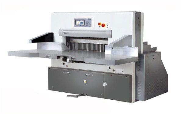Latest design L computerized paper cutting machine series