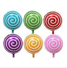 High Quality Lollipop shape high quality helium foil balloon for party decoration