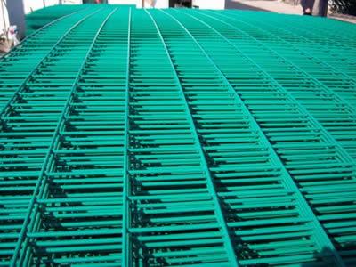 PVC Coated Welded Mesh Panels