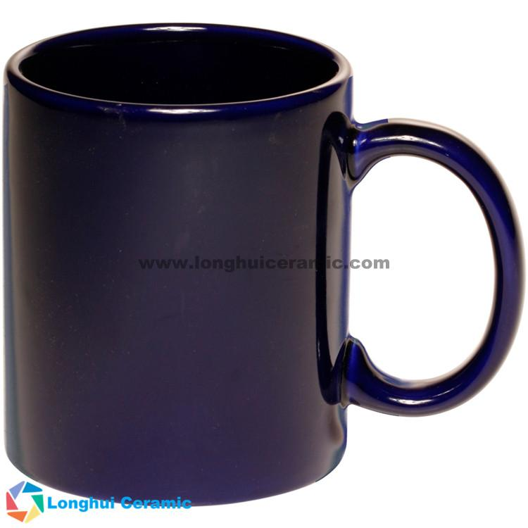11oz Traditional personalized color glaze ceramic coffee mug