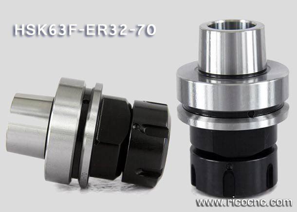 HSK 63F CNC Collet Chuks Holders for HSK Tool Changer