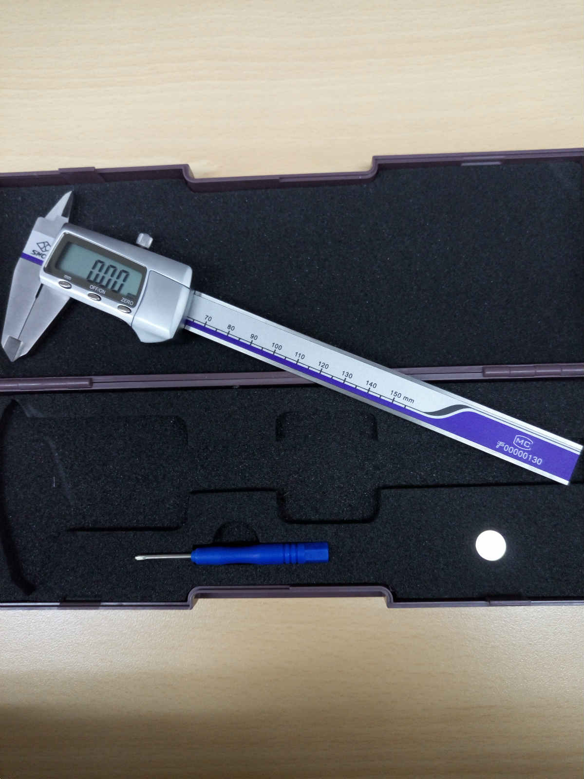Stainless Metal Cover Digital Calipers