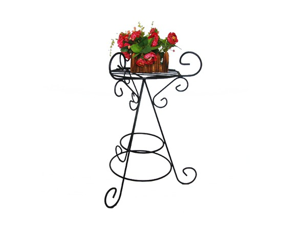 Vintage style flower rack
