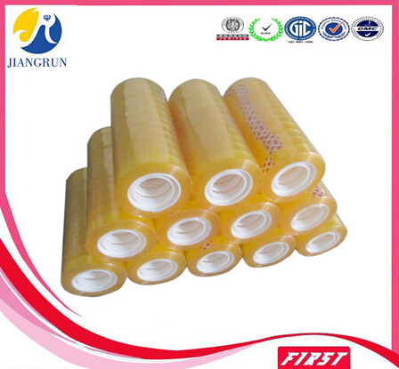 waterproof adhesive bopp stationery clear packing tape