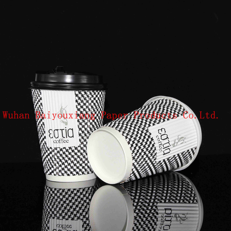 Customized Logo 22oz Disposable single wall milk cup