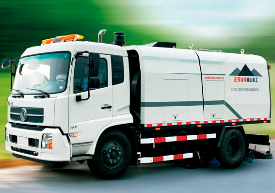 ESUN CLYQ-12000 road sweeper truck