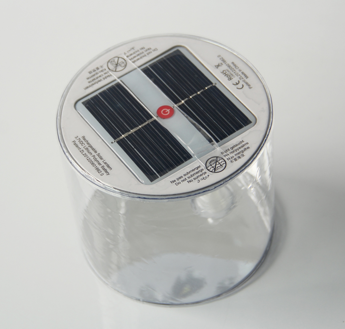 Solar Inflatable LED Lantern
