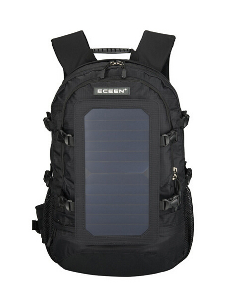 Multifunctional Mountaineering Hiking Solar Backpack 6.5W 6V