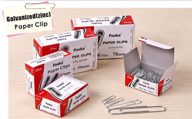 Round Zinc(galvanized) Paper Clips