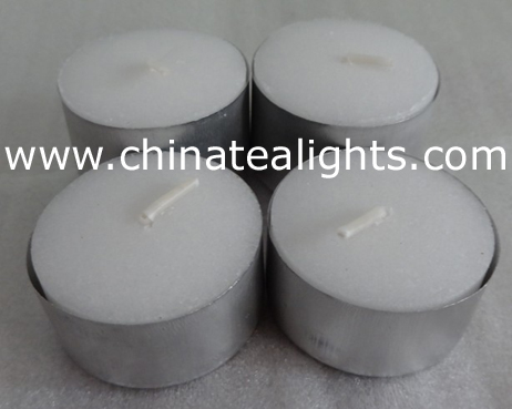 tea light candle white unscented