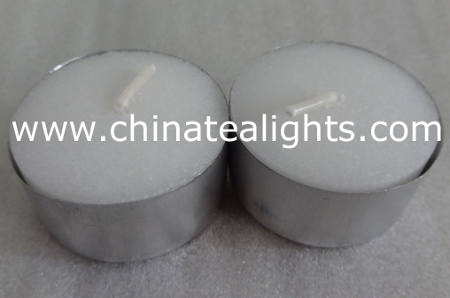 white unscented tealight candle long burn hour-sales at chinatealights.com