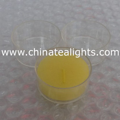 tealight cup polycarbonate/tealight container