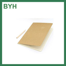2016 Soft cover Kraft paper Note book