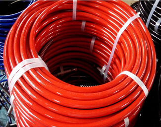 high pressure airless spray paint hose with NPSM NPSF fittings