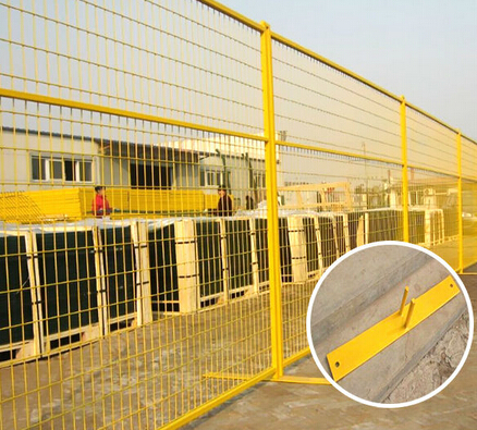 hot sale vinyl fence/temporary construction fence panels/canada temporary fence