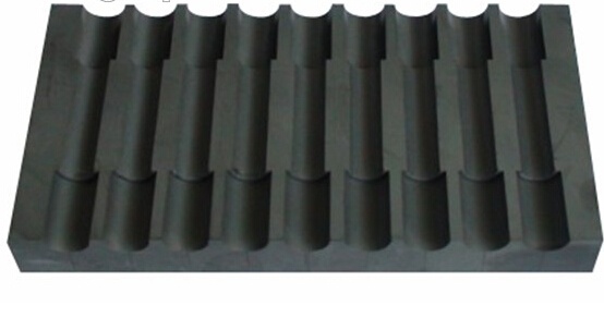 Graphite mould for small size diamond segment