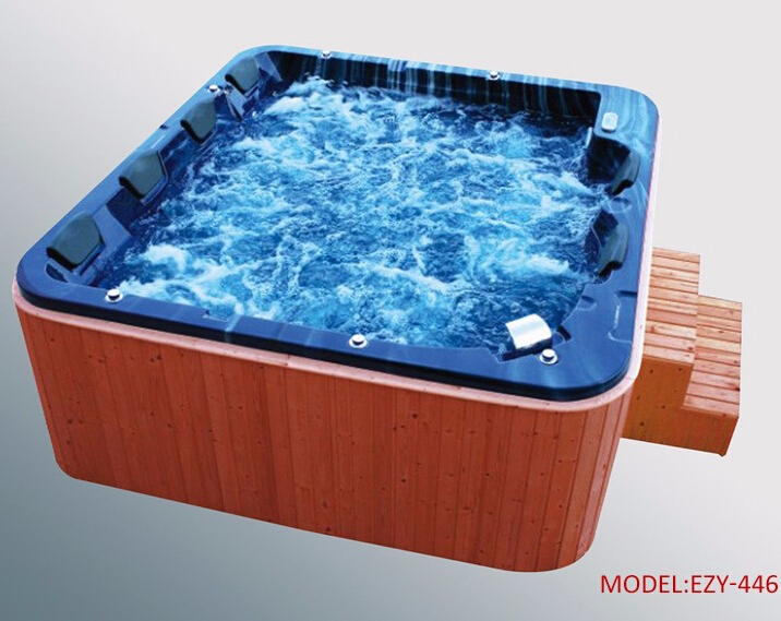 Out door spa tubs luxury design whirlpool spa bathtubs large size for apartment party use