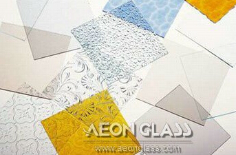 3mm-8mm Clear/Colored PATTERNED GLASS (Canelado, Diamond, Flora, Karatachi, Millennium, Mistlite, Nashiji etc) with CE&ISO