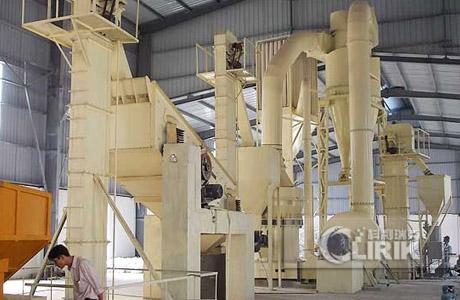 Barite High Pressure Mill