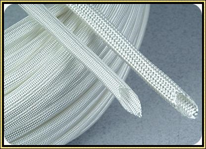 Heat Treat Fiberglass Sleeving