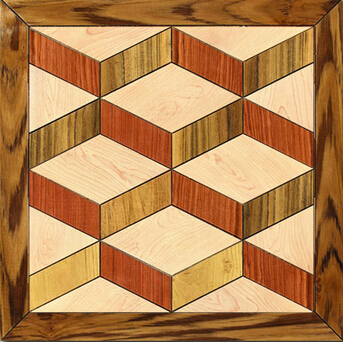 Engineered Ash Decorative Parquet Floorings