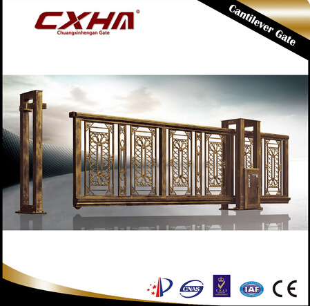 Main Gate Metal Fence Sliding Doors