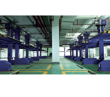 One Post Sliding Rotatable Intelligent Car Parking Equipment