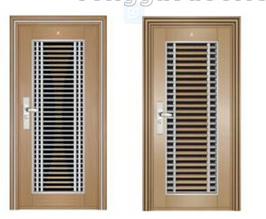 Stainless steel 304 security door /steel door /cheaper housing screen door