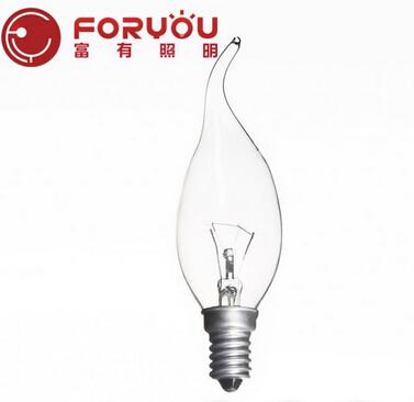 E14 25W New arrival warm White brighten household 1.5 volt light bulbs