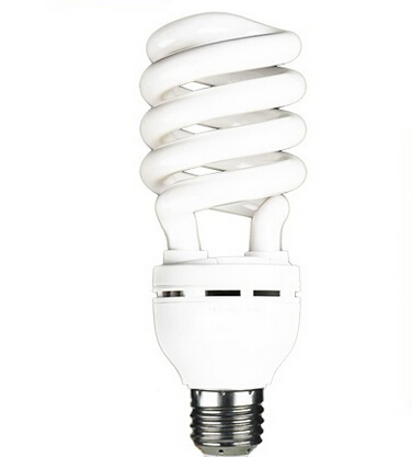 High brightness E27 220-240V 25w half spiral led energy saving light bulb