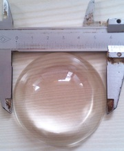 diameter 60mm aspherical glass lens,for lighting optical usage