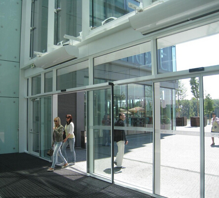 automatic aluminum sliding door