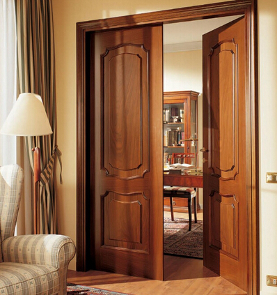 New popular teak wood/wooden main door designs