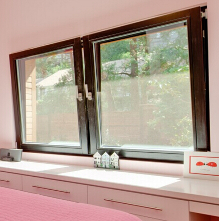 Australia AS2047 standard thermal break double glass aluminum Tilt and Turn Window