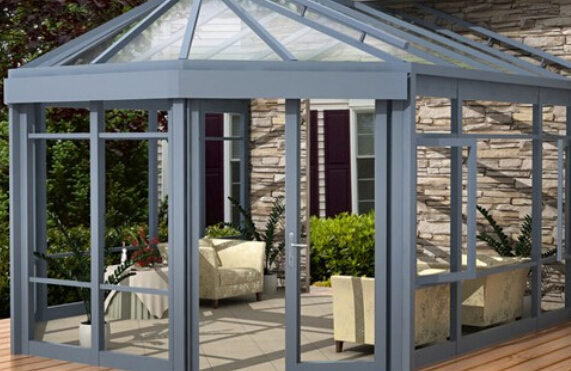 Wintergarten winter garden winter glass house ,green house aluminium