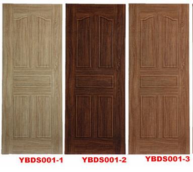 hdf moulded melamine mdf door skin YBDS007-1