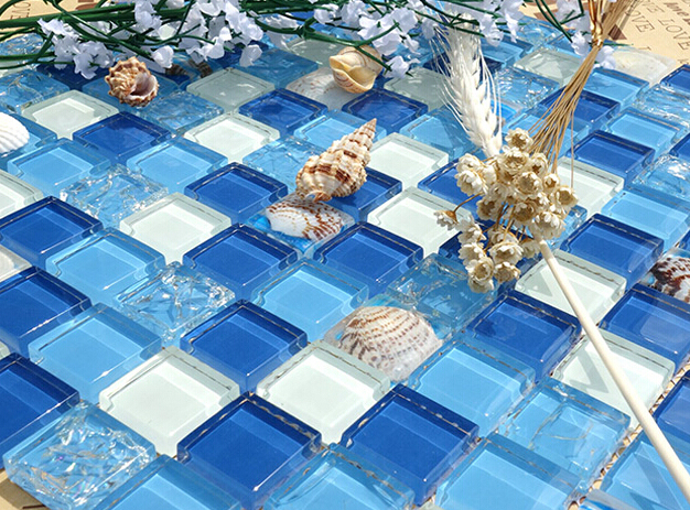 Most Popular Designs Mosaic Tile For swimming Pool Glass Mosaic Floor Tile