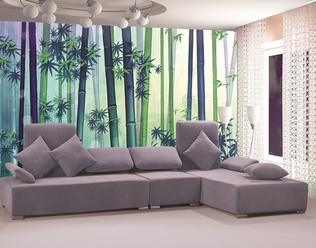 2016 Lowest Price Bamboo Wallpaper stylish nature decorating walls Decoration